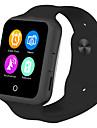 Smartwatch fuer iOS / Android Herzschlagmonitor / Verbrannte Kalorien / Langes Standby / Touchscreen / UEbungs Tabelle Anruferinnerung / AktivitaetenTracker / Schlaf-Tracker / Sedentary Erinnerung