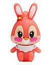 Hot cartoon novo coelho usb 2.0 16gb flash drive memory stick