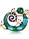 Femme Filles´ Broche Animal Mode Personnalise euroamericains Strass Alliage Forme d\'Animal Bijoux PourMariage Soiree Occasion speciale