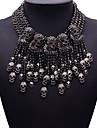 여성용 문 목걸이 보석류 보석류 합성 보석 합금 패션 Euramerican 보석류 제품 파티