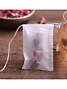 100pcs / lot teabags 5,5 x 7cm puste zapachowe torebki z torebką z fałdami ujędrniającymi papier do herbat luzem herbata