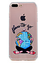 Pour iPhone X iPhone 8 Etuis coque Transparente Motif Coque Arriere Coque Femme Sexy Flexible PUT pour Apple iPhone X iPhone 8 Plus