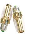 7 Вт. 100-150 lm E14 E27 LED лампы типа Корн 60 светодиоды SMD 2835 Тёплый белый Белый AC 220-240V