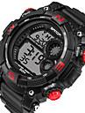 Heren Sporthorloge Militair horloge Slim horloge Modieus horloge Polshorloge DigitaalLED Kalender Fitness trackers Stopwatch s Nachts