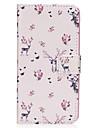 Capinha Para Samsung Galaxy S8 Plus S8 Carteira Porta-Cartao Com Suporte Flip Estampada Magnetica Corpo Inteiro Animal Rigida Couro