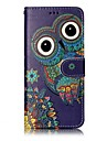 For Samsung Galaxy S8 Plus S8 Phone Case Owl Pattern Varnishing Process PU Leather Material Phone Case S7 Edge S7 S6 Edge S6