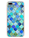 Huelle Fuer Apple iPhone 7 / iPhone 7 Plus Muster Rueckseite Geometrische Muster Weich TPU fuer iPhone XS / iPhone XR / iPhone XS Max