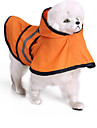 Кошка Собака Дождевик Одежда для собак Терилен Весна/осень Лето На каждый день Водонепроницаемый Однотонный Оранжевый Синий Для домашних
