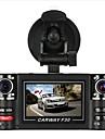 F30S HD 1280 x 720 Автомобильный видеорегистратор 120° Широкий угол 2.7 дюймовый Капюшон с Автомобильный рекордер
