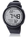 Men\'s Sport Watch Smart Watch Digital Water Resistant / Water Proof Noctilucent Rubber Band Black Blue Grey