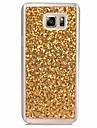 Etui pour samsung galaxy note 3 note 2 casquette couverture arriere translucide etui glitter brillance soft tpu pour samsung note 5 note 4