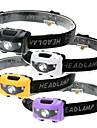 Φακοί Κεφαλιού LED LED Εκτοξευτές 500 lm 4.0 τρόπος φωτισμού Αδιάβροχη 3 Τρόποι Λειτουργίας Φωτιστικό LED Κατασκήνωση / Πεζοπορία / Εξερεύνηση Σπηλαίων Καθημερινή Χρήση Ποδηλασία Μαύρο Βυσσινί Κίτρινο