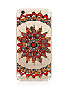 Etui pour iphone 7 plus 7 housse transparent coque arriere motif mandala doux tpu pour Apple iphone 6s plus 6 plus 6s 6 se 5s 5c 5 4s 4