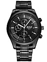 Men\'s Dress Watch Fashion Watch Quartz Alloy Band Casual Black
