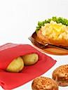 zmywalna torba na ziemniaki z mikrofali do szybkiej, szybkiej kieszeni na parze