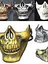 chaud! Costume halloween airsoft crane moto crane demi-face cs guerrier squelette militaire 3 generations mascarade masque