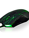 Ajazz-aj52 sans fil mouse7buttons reglable 2400dpi colore led lumiere jeu souris souris pc pour ordinateur portable