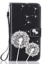 Case For Apple iPhone 7 7 Plus Cover Card Holder Wallet Rhinestone with Stand Flip Pattern Full Body Case Dandelion Hard PU Leather for 6 6plus 5S