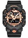 Homens Relogio Esportivo Relogio de Moda Relogio digital Japanes Quartzo Digital Cronografo Impermeavel Cronometro Noctilucente