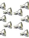 10 stuks 3W 350lm GU10 LED-spotlampen 29 LED-kralen SMD 5050 Decoratief Warm wit Koel wit 220V