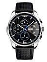 Men\'s Fashion Watch Wrist watch Japanese Quartz Calendar / date / day Water Resistant / Water Proof Stopwatch Noctilucent Plastic Band