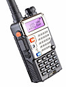 5W 128ch Two Way Radio Walkie Talkie Baofeng Uv-5re For Hunting Dual Display FM VOX Uhf Vhf Radio Station Cb Radio