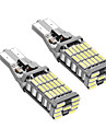 1 Pair T15 Can-bus Error Free LED DRL T15 W16W LED Back-up Light White Color