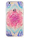 Coque Pour Apple iPhone 7 Plus iPhone 7 Motif Coque Fleur Flexible TPU pour iPhone 7 Plus iPhone 7 iPhone 6s Plus iPhone 6s iPhone 6 Plus
