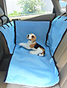 Собака Чехол для сидения автомобиля Животные Корзины Бежевый Синий Для домашних животных