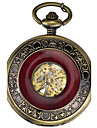 Men\'s Pocket Watch Automatic self-winding Alloy Band Vintage Bronze