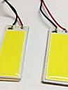2pcs BA9S / T10 Автомобиль Лампы 5W COB 490lm Светодиодные лампы Внутреннее освещение