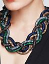 Pentru femei praf de stele Coliere - Declarație, Vintage, Modă Model nou Rosu, Verde, Albastru 52 cm Coliere Bijuterii 1 buc Pentru Petrecere, Ocazie specială, Zi de Naștere