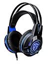 K1 머리띠 유선 헤드폰 동적 플라스틱 게임 이어폰 볼륨 컨트롤 / 마이크 포함 / 야광의 헤드폰