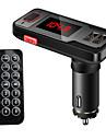 Automatique VBT69 V3.0 Kit Bluetooth Voiture Mains libres de voiture Telecommande Emetteurs FM Port USB