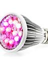 290-330lm E14 GU10 E26 / E27 Растущая лампочка 12 Светодиодные бусины Высокомощный LED Естественный белый UV (лампа черного света) Синий