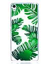 Caso para sony x xa capa capa banana folhas padrao alta penetracao tpu material scratch telefone caso para sony e5