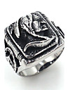 Men\'s Band Rings Jewelry Rock Gothic Stainless Steel Skull / Skeleton Jewelry For Street Club