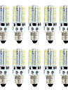 BRELONG® 10pcs 4W 360lm E14 LED Corn Lights 80 LED Beads SMD 3014 Dimmable Warm White White 220V 110V