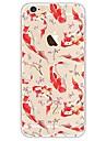Para iPhone X iPhone 8 Case Tampa Transparente Estampada Capa Traseira Capinha Animal Macia PUT para Apple iPhone X iPhone 8 Plus iPhone