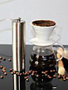 1pc Stainless Steel Coffee Grinder Manual ,  18.8*4.9*4.9
