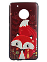 Case For Motorola Pattern Back Cover Animal Soft TPU for Moto G5 Plus Moto G5