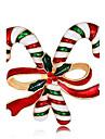 Broche - Rosa Oro Plateado Moda Broche Arco iris Para Navidad / Nochevieja