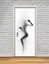 Ünlü Manzara 3D Duvar Etiketler Uçak Duvar Çıkartmaları 3D Duvar Çıkartması Dekoratif Duvar Çıkartmaları 3D, Kağıt Ev dekorasyonu Duvar