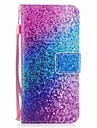 Coque Pour Samsung Galaxy S8 Plus S8 Portefeuille Porte Carte Clapet Motif Magnetique Coque Integrale Brillant Degrade de Couleur Dur