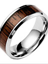 Men\'s Women\'s Band Rings Fashion Titanium Steel Jewelry Jewelry For Daily