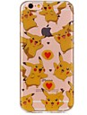 Para iPhone 7 iPhone 7 Plus Case Tampa Ultra-Fina Estampada Capa Traseira Capinha Desenho Animado Macia PUT para Apple iPhone 7 Plus