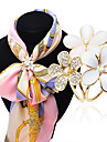 Women\'s Brooches Imitation Opal Rhinestone Fashion Classic Rhinestone Alloy Jewelry Butterfly Jewelry For Daily Casual