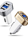 Car Charger USB Charger Universal Fast Charge 2 USB Ports 3 A DC 12V-24V