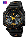 SKMEI Men\'s Sport Watch Digital Watch Digital PU Band Black