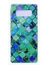 케이스 제품 Samsung Galaxy Note 8 울트라 씬 패턴 뒷면 커버 기하학 패턴 소프트 TPU 용 Note 8 Note 5 Edge Note 5 Note 4 Note 3 Lite Note 3